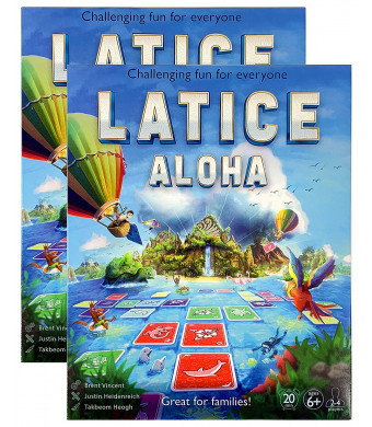 Latice Aloha Strategy Card Game 2-Pack