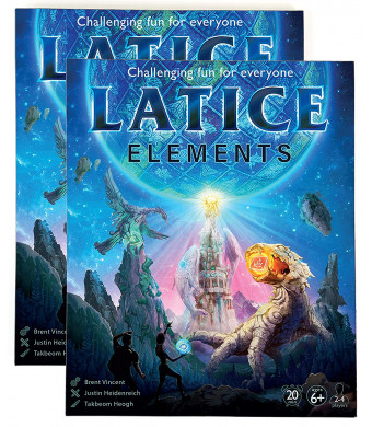 Latice Elements Strategy Card Game 2-Pack