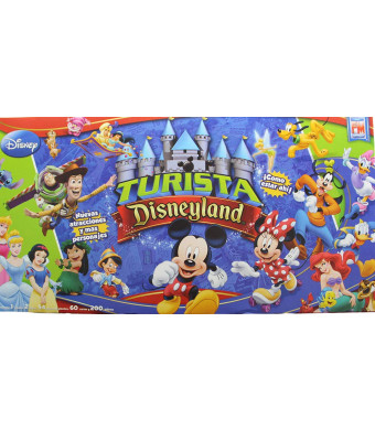 Turista Mundial Disneyland Spanish Edition. Small Size Board Game.