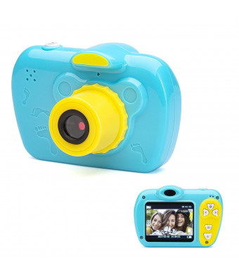 SIKVIO Mini 2.0 Inch Screen Kids Childrens Digital Camera,1080P HD Mini Digital Video Recorder Camcorder Camera with Loop Recording 16GB Cards for Boys Girls