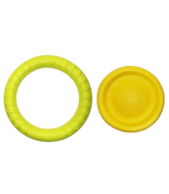 MASKOTA Dog Toys Flying Disc Ball and Rubber Ring