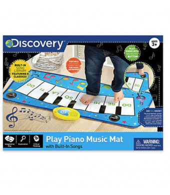 Merchsource Discovery Kids Play Piano Build-in Song Dance Mat