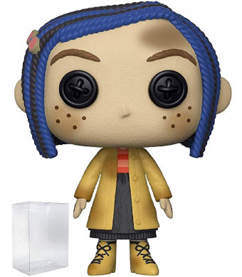 Funko Pop! Movies: Coraline - Coraline as a Doll Vinyl Figure (Includes Pop Box Protector Case)