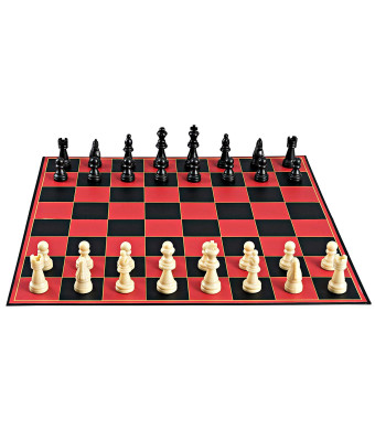 Point Games Chess Board Game with Super Durable Board for Kids and Adults - Educational Toys