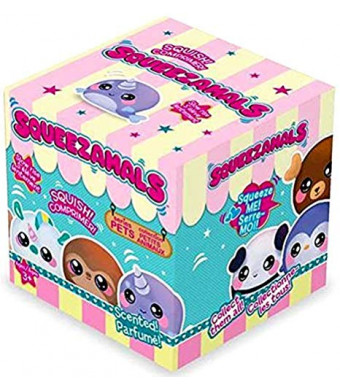 Squeezamals 2.5 Inch Squishable Boxed Scented Pets Series 1 Blind Box Stocking Stuffer Birthday Favor