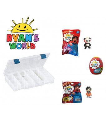Ryan's World Ultimate Egg Surprise Playset with Storage Case from Ryan's Toy Review