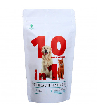 Petgeia 10 in 1 Pet Urine Test Strip for Dogs and Cats