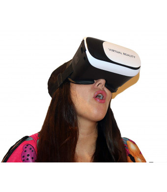 Virtual Reality Headset for iPhone and Android Phones Virtual Reality Goggles by BVP-Marketing-com