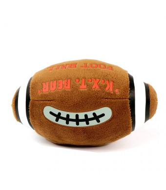 Zhan Yi Pet Toy Football Dog Stuffing Durable with Squeaker for Interactive Game/Training Puppy Medium Large Dogs