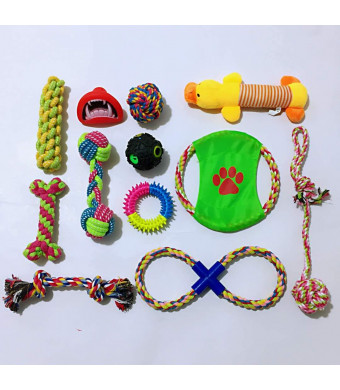 Kong Dog Toys For Aggressive Chewers And Indeatructible Dog Toys, Fun Between Friends With Excellent Dog Dental Chews And Rope Dog Toys Nice 12 Pack Dog Toyss By Pu-p-Toys