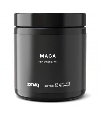 Ultra High Strength Maca Root Capsules - 10,000mg 20x Concentrated Extract - The Strongest Maca Root Powder Supplement Available - Organic Peruvian Grown - Gelatinized Black, Red, and Yellow Complex