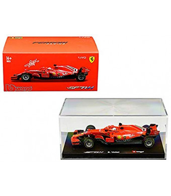 Ferrari Racing SF71H #5 Sebastian Vettel 1/43 Diecast Model Car by Bburago 36808 SV
