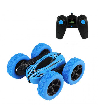 New Boss Remote Control Car,RC Stunt Car 360 Degree Flips Double Sided Ratating Racing Car,High Speed Flashing Remote Controlled Car for Kids,Electric Toy Cars with Headlights