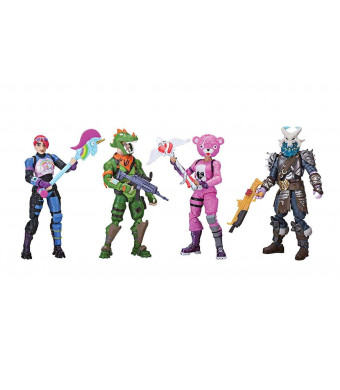 Fortnite Squad Mode 4 Figure Pack ( 8 years and up ) ) ( WE Ship Out Everyday