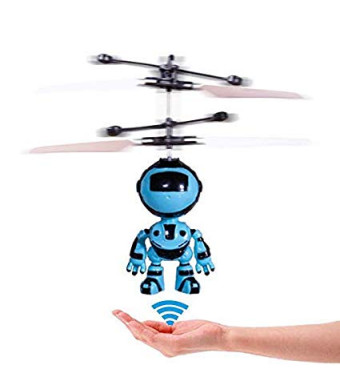 Acrotor RC Helicopter Gifts Flying Robot RC Toys Hand Controlled Drone Quadcopter Flying Toys for Kids Boys Girls Indoor Games