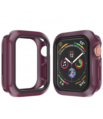 Booyi for Apple Watch Case 40mm/44mm Soft Protective TPU Case with Resilient Shock Absorption for iWatch Apple Watch Series 4 Nike+ Sport Edition
