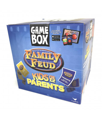 Cardinal Family Feud Kids Vs Parents Edition Game Box