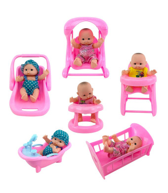 """Liberty Imports Cute Lil Baby Doll Collection 