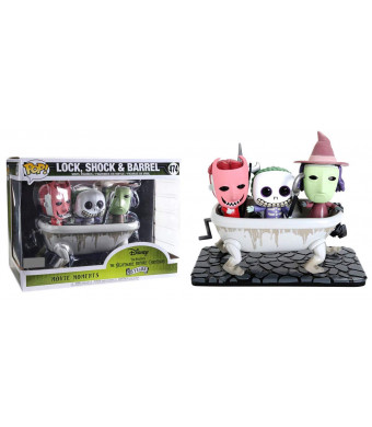 POP! Funko Movie Moments: Disney's The Nightmare Before Christmas - Lock,Shock and Barrel (Exclusive) #474