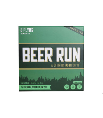 Beer Run Drinking Strategy Board Game by Towpath Gaming