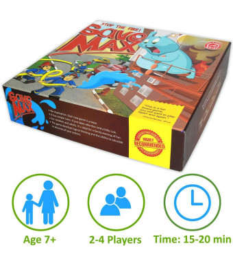 Board Game for Kids - Family Games for Kids Teens Adults - Fun Party Educational Kid Board Game - New Cooperative Children Games for Families - Best Strategy Board Game for Children Age 7 and Older