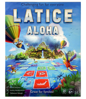Latice Aloha Strategy Card Game - The Popular New Family Game for Kids and Adults, Challenging Fun for Everyone