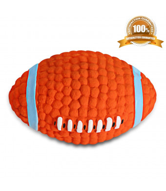 BAODATUI Interactive Dog Toy - IQ Treat Ball Food Dispensing Toys for Small Medium Large Dogs Durable Chew Ball - Nontoxic Rubber and Bouncy Dog Ball
