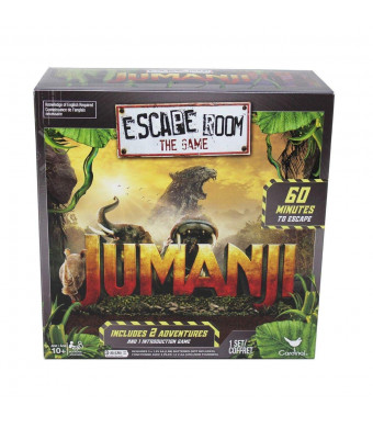 Jumanji Escape Room Game ( Ages 10 and up )
