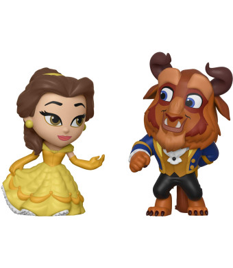 Funko Mini Vinyl Figures: Beauty and The Beast - Belle 2 Pack, Multicolor
