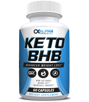 Keto Fat Burner Pills for Women - with Patented goBHB Ingredients - Formula to Burn Fat, Block Carbs - Weight Loss Supplement for Women and Men -60 Capsules