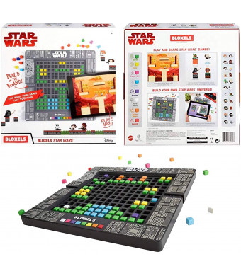 Star Wars Build Your OWN Video Game Includes: 320 Colorful Blocks, 1 GAMEBOARD: Lay Out, Design and CONFIGURE Your OWN Star Wars Story Using Iconic Characters, Watch Your Game World Come to Life
