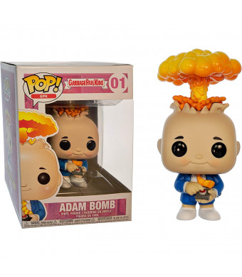 Funko Adam Bomb: Garbage Pail Kids x POP! GPK Vinyl Figure and 1 POP! Compatible PET Plastic Graphical Protector Bundle [#001 / 26003 - B]