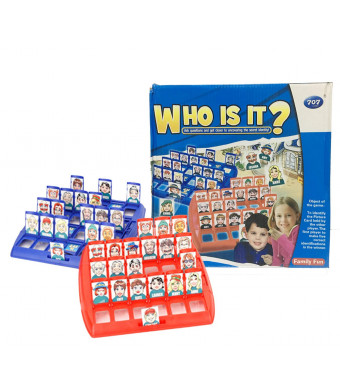 Fonza Who is it Board Game Guess Who Classic Kid Puzzle Board Game Big Size Board 10 inches