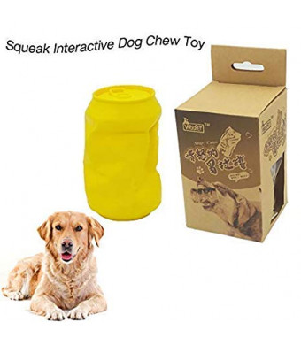 URUNIQ Dog Chew Toy Squeak Interactive Toy FDA Durable Indestructible Bite Toy for Aggressive Chewers Small Medium Breed Dogs Gift for Pets Lover