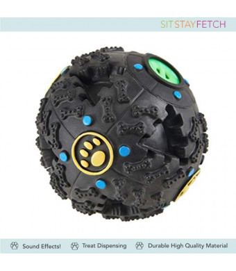 Sit Stay Fetch Co IQ Enhancer Ball and Treat Dispenser