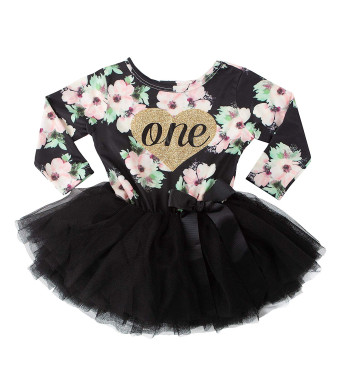 Grace and Lucille 1st Birthday Dress (Long Sleeve)