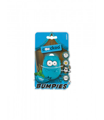 COOCKOO BUMPIES   Stimulating Interactive Treat Dispenser Chew Toy for Dogs