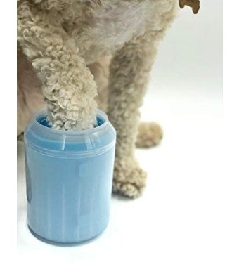 FreshOutTheBox Paw Cleaner Portable Washer for Small Dogs, Cats, Pets