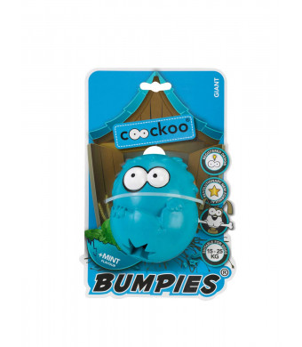 COOCKOO BUMPIES | Stimulating Interactive Treat Dispenser Chew Toy for Dogs
