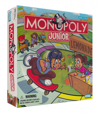 Monopoly Junior: Lemonade (Ages 5 and Up)