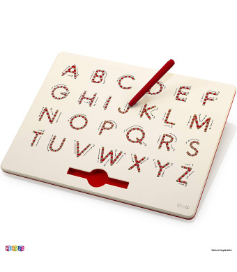 Magnetic Drawing Board - STEM Educational Learning ABC letters Kids Drawing Board - Writing Board For Kids Erasable - Magnetic Doodle Board - Magnatab Includes A Pen - Best Gift For Boys And Girls