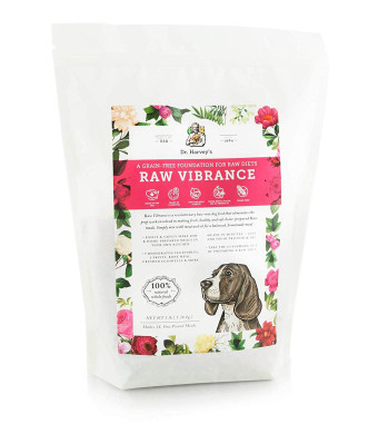 Dr. Harvey's Raw Vibrance Grain Free Dehydrated Foundation for Raw Diet Dog Food (3 Pounds)