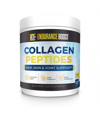 Collagen Peptides Powder Grass Fed - Supports Bones and Joints - Healthy Skin and Hair for Women and Men - Unflavored - Certified Paleo Friendly, Non-GMO and Gluten Free