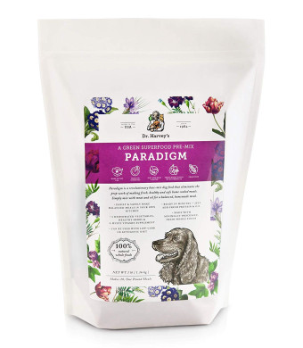 Dr. Harvey's Paradigm Green Superfood Grain Free Pre-Mix Dog Food (3-6 Pounds)