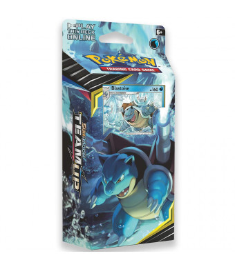 Pokemon TCG: Sun and Moon Team Up, Torrential Cannon 60-Card Theme Deck Featuring A Promo Blastoise