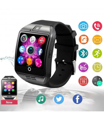 2019 Newest Bluetooth Smart Watch Touchscreen with Camera,Unlocked Watch Phone with Sim Card Slot,Smart Wrist Watch,Smartwatch Phone for Android Samsung S9 S8 iOS iPhone 8 7S Men Women Kids
