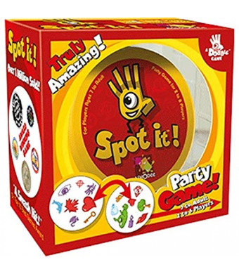 Spot It! Party Game! Board Game in Retail Box Packaging