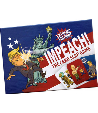 IMPEACH: The Card Slap Game (Extreme Version) - Funny Gag Political Card Game - Birthday Gift Idea