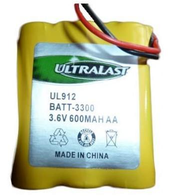ATandT E2126 Cordless Phone Battery Ni-CD 3 AA W/JST, 3.6 Volt, 800 mAh - Ultra Hi-Capacity - Replacement for ATandT, Panasonic, VTech 80-5071-00-00, RadioShack 23-298 Rechargeable Battery