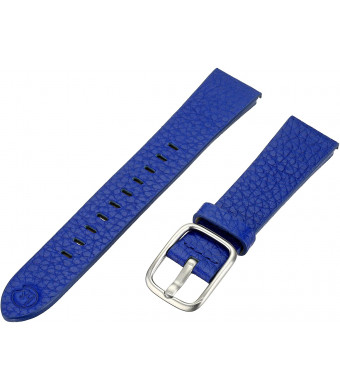 bandnd by Hadley-Roma with Mode Blue 18mm Genuine Leather Watch Band